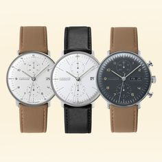 Massdrop exclusive price and reviews: Junghans Max Bill Chronoscope Watch   Ends 7/17/2017   At the heart of the Bauhaus Movement is simplicity, geometry, and functionality. It's with these guiding principles that...