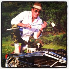 gonzo golf - hunter thompson