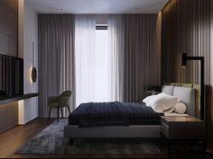 Dark apartment for light pair on Behance
