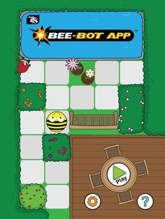Bee-Bot app on iPads simulates the Bee-Bot programming experience on the iPad to teach basic programming concepts to early childhood students. Basic Programming, Computer Programming, Computer Lab, Computer Technology, Digital Technology, Positional Language, Computational Thinking, App Play, Stem For Kids