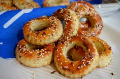 Bagel, Goodies, Appetizers, Bread, Homemade, Baking, Food, Contrast, Kitchen