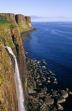 Kilt Rock, Isle Of Skye, Scotland