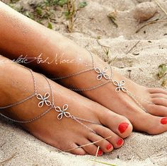 MJartoria 2 Pcs Handmade Starfish Turtle Anklet Turquoise Pearl Beach Anklet Boho Foot Jewelry Party Casual for Women Girls