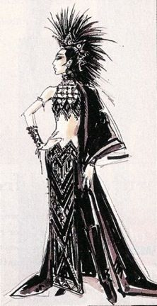 "Academy Awards costume by Bob Mackie for Cher, her ""I'll show you"" for being snubbed for Mask"