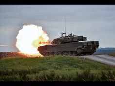 German Infantry fighting vehicle live fire exercise