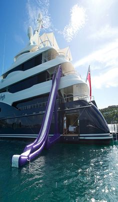 The private yacht