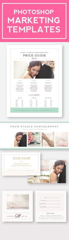 Newborn Photography Magazine Template - Photography Studio Magazine