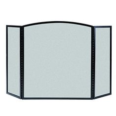 Fire Pit Spark Screens - Panacea 15117 Basic Fireplace Screen 3Panel Black * You can find out more details at the link of the image. (This is an Amazon affiliate link)