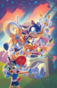 Sonic Universe #96 variant cover by EvanStanley on DeviantArt