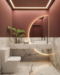 Washroom Design, Toilet Design, Bathroom Design Luxury, Modern Bathroom Design, Modern Interior Design, Clinic Interior Design, Modern Bathrooms, Interior Colors, Modern House Design