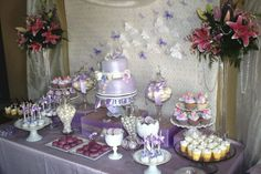 Nice 60+ Awesome Purple Candy Table For Your Wedding  https://oosile.com/60-awesome-purple-candy-table-for-your-wedding-6904
