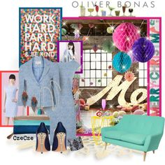 """""""Christmas Party"""" – created by CzeCze.  Entered in the Polyvore """"Oliverbonas 'Christmas Party' Contest"""", """"?Polyvore?"""" group; """"Christmas"""" contest, """"Fashion & Style"""" group.  #oliverbonas #christmasparty"""