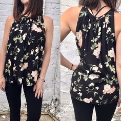 """We're weekend ready! """"Parisian Dreams"""" floral top    FREE SHIPPING  Sanitystyle.com 440.893.9279 sales@sanitystyle.com  to order or shop in store    #sanitystyle #sanitychagrinfalls #shoplocal #chagrinfalls #shopchagrinfalls #boutique #freeshipping #cleveland #clevelandfashion #clevelandstyle #style #shop #cle #thisiscle #love #selloninsta #instasale #fashionpost #beautiful #picoftheday #shopping #shopaholic #retailtherapy #instaboutique #spring #springstyle  #newarrivals #shopwhatsnew"""