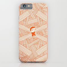 """""""Labyrinth"""" iPhone Case by Jarvis Glasses on Society6."""