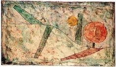 Paul+Klee+Landscapes | Landscape in the Beginning by Paul Klee (1879-1940, Switzerland)