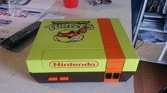 NES with TMNT mod