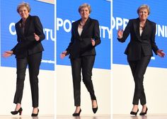 Video: British PM Theresa May Mocked for Awkward Dance to 'Dancing Queen' at Major Speech — Newsweek