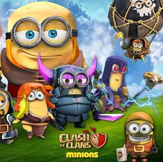 Clash of Clans Minions Triptych