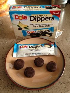 Living a Changed Life: Dole Banana Dippers --- ohhhh, I am so addicted to these. they're so delicious. and only a hundred calories