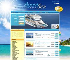 Contao Webseite für Kreuzfahrt-Reisebüro