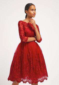 Chi Chi London AVIANA - Cocktailkleid / festliches Kleid - red - Zalando.de