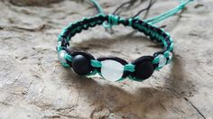 Check out this item in my Etsy shop https://www.etsy.com/listing/291791617/two-tone-hemp-bracelet-gemstone-bracelet