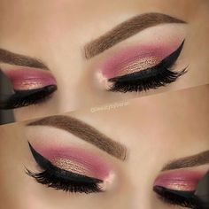 We're tickled pink with this gorgeous look by @beautybybaran using our Chocolate Bon Bons Eye Shadow Collection. #chocolatebarpalette #toofaced #regram
