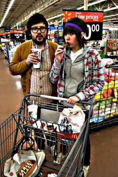 """""""We're starting a new blog called 'Look at these fucking hipsters of Walmart.'"""""""