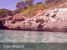 Places to see in ( Minorca - Spain ) Cala Mitjana  Cala Mitjana is a bay and beach at Minorca's southern coast. The small pine tree surrounded beach can be reached by foot in 20 minutes starting from a parking lot close to country road OM-714. The beach is highly frequented in the summer season.  Cala Mitjana is a long walk to get to but is definitely worth it. Amazing clear water with some caves you could swim into to explore. There's also a walking trail up around the bay that leads you to…
