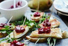 Happy New year food New Year's Food, Halloumi, Bruschetta, Ethnic Recipes, Impreza, Blog, Happy, Finger Foods, Blogging