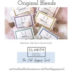 Clarity bath blend of natural salts and essential oils