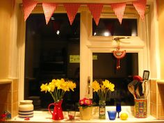 lovely windowsill .. Bunny Mummy