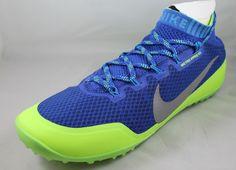 NIKE Free Hyperfeel Run Trail Mens Running Shoes 616247-403 Sz 9.5 Blue Silver #Nike #RunningCrossTraining