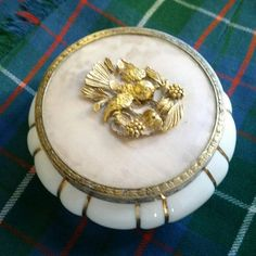 Hey, I found this really awesome Etsy listing at https://www.etsy.com/listing/482903890/matson-dogwood-china-puff-jewelry-box