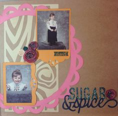 Crafty Mrs T: ArtBooking – Blog Hop - right page of two page layout #Artbooking