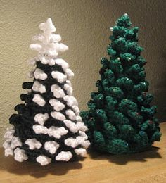 Evergreen Tree... this is a free pattern