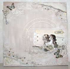 A canvas featuring the Fairytale of Spring collection