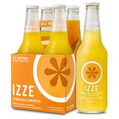 IZZE Sparkling Juice ❤ liked on Polyvore featuring fillers, food, orange fillers, drinks and orange