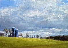 Amwell Sky - Landscape Paintings by Joe Kazimierczyk