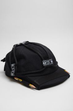 NASIR MAZHAR BASEBALL BLACK CAP