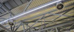 proyecto de adecuación de ventilación y distribución del aire de la nave de extrusión para de la empresa PICSA en Alfarrasí, con el fin de aprovechar al máximo la eficiencia energética.