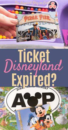 Disneyland ticket expiration dates. How to extend your Disneyland ticket. Disneyland's new extended ticket policy Disneyland health scare answers. Disneyland Annual Pass, Disneyland Tickets, Downtown Disney, Disneyland Resort, Price Tickets, Disney California, Adventures By Disney