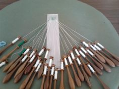 This website has free patterns for bobbin lace. Will need to look through to find them, and possibly join.