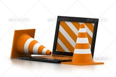 Realistic Graphic DOWNLOAD (.ai, .psd) :: http://jquery.re/pinterest-itmid-1006832623i.html ... Under construction ...  3d, business, computer, construction site, cordon tape, danger, forbidden, isolated, it support, laptop, mobility, object, pc, problems, safety, three-dimensional shape, traffic, traffic cone, working  ... Realistic Photo Graphic Print Obejct Business Web Elements Illustration Design Templates ... DOWNLOAD :: http://jquery.re/pinterest-itmid-1006832623i.html