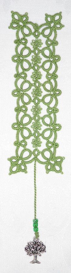 Le Blog de Frivole -Patterns and tutorials. tatting tatted tat lace bead beads beaded