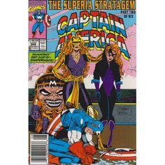 CAPTAIN AMERICA #388 | July 1991 | 1968-2011 | VOLUME 1 | MARVEL | $3.60