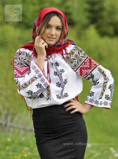 Hand embroidered Romanian peasant blouses - Moldavian top available on www.ieRomaneasca.com - worldwide shipping! - misses blouses, long sleeveless blouse, party blouses *sponsored https://www.pinterest.com/blouses_blouse/ https://www.pinterest.com/explore/blouses/ https://www.pinterest.com/blouses_blouse/saree-blouse/ https://www.stylewe.com/category/blouses-73_113