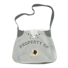 NFL Washington Redskins Hoodie Sling by Littlearth. $24.00. Inspired by classic look of hoodie sweatshirt. Secure snap closure keeps belongings secure. Officially licensed product features printed team logo. Unstructured bag featuring metal grommets, lacing, and working front kangaraoo pocket. Littlearth has added the new shape of their Hoodie Sling to their popular line of Hoodie Bags.  These bags are inspired by the classic look of hoodie sweatshirts.  Our Hoodie Sling ...