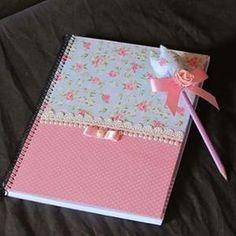 caderno personalizado floral - Pesquisa Google