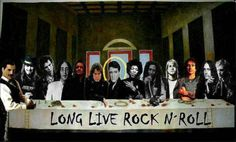 Rock n Roll Film Music Books, Music Music, Live Rock, Last Supper, I Am Bad, Long Live, Music Stuff, Rock N Roll, Musicals